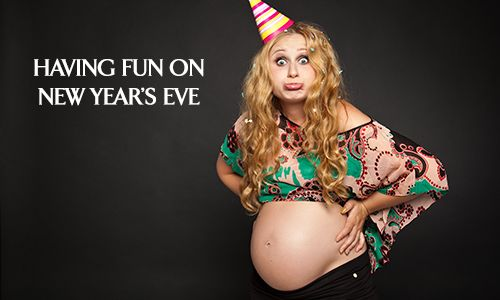 Having Fun on New Years When You Are Pregnant